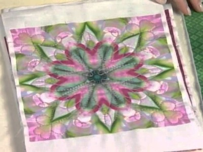 The quick and easy way to make a kaleidoscope quilt block
