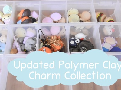 Update Polymer Clay Charm Collection ● December 2014