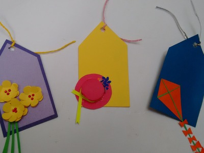 3 Paper Name. Gift Tags - Cute & Easy