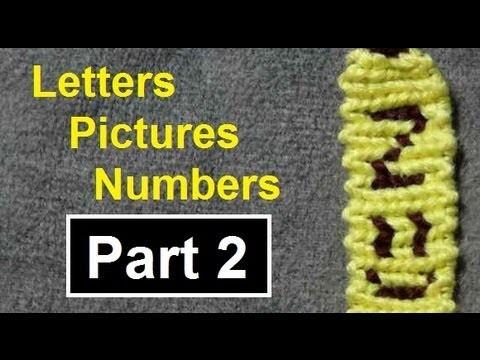 ◘ Alphabet Friendship Bracelets - Names, Pictures & Numbers by BeyondBracelets (Part 2)