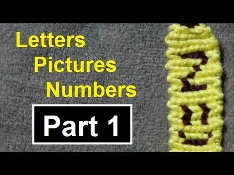 ◘ Alphabet Friendship Bracelets - Names, Pictures & Numbers by BeyondBracelets (Part 1)