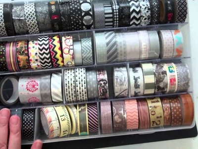 As requested here is my Washi tape collection
