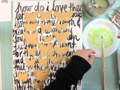 Butterfly Painting Tutorial by Wilna Furstenberg