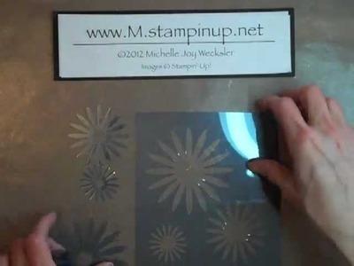 Card Play #36 - Die Cut Acetate Stencil Background