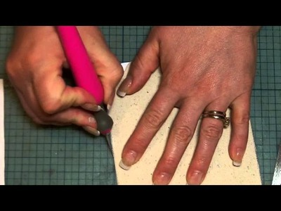 Covering Chipboard with Paper Tutorial - Back to Basics