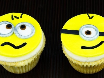 Despicable Me Cupcakes. Minion Cupcakes by Cookies, Cupcakes and Cardio