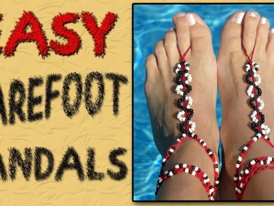 Easy Barefoot Sandals