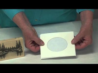 Easy Frames: How to Emboss Envelopes & Frame Stamps