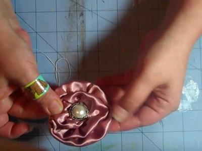 Fabric rose tutorial (Olivia   Rose)