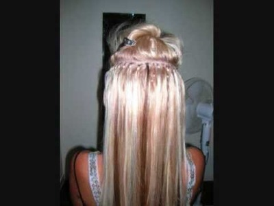 Hair Extensions?  Loop Micro Link Hair Extensions. Quick Hair