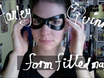 Harley Quinn mask tutorial
