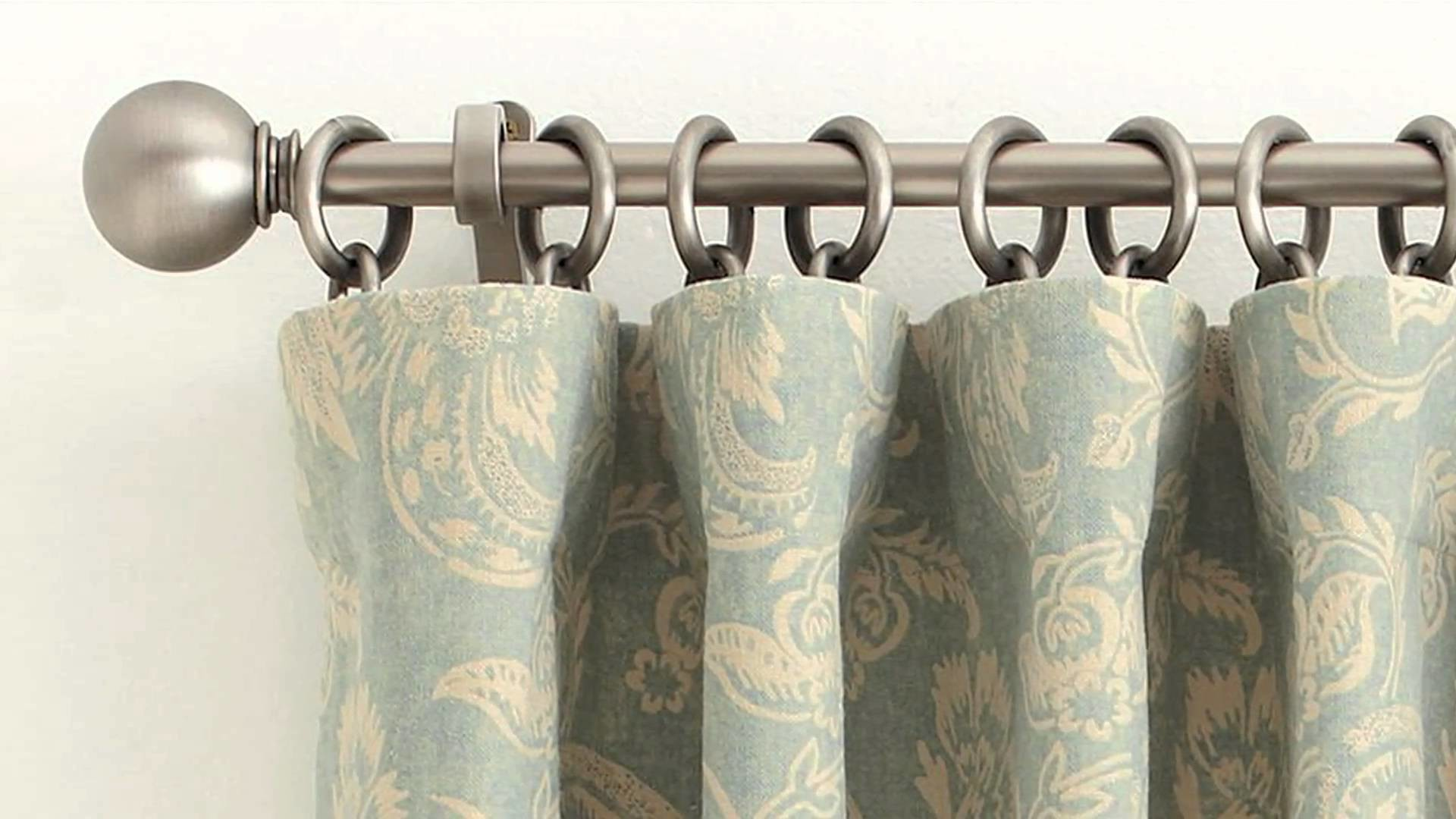 Home Décor: How to Correctly Hang a Drape at Home | Pottery Barn