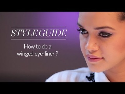 How To Apply Perfect Winged Eyeliner for Beginners - Women's Style Guide