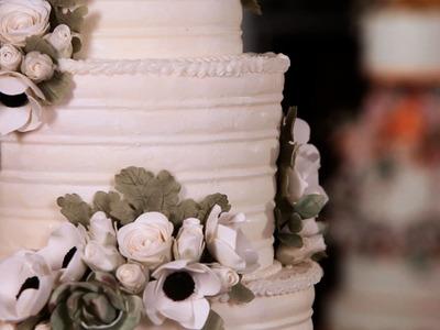 How to Arrange Sugar Flowers on Cakes | Sugar Flowers