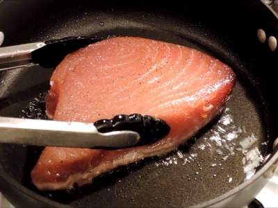 How to Cook Seared Tuna Steak - Episode 24