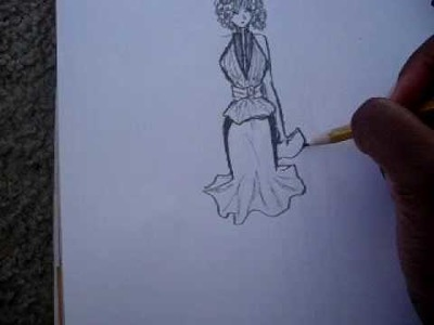 How to draw and design clothes