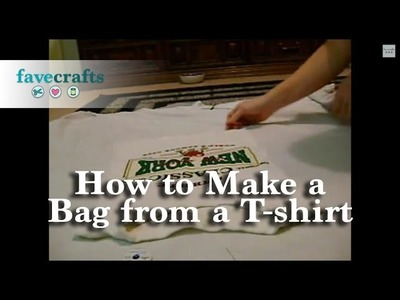 How to Make a Bag from a T-Shirt