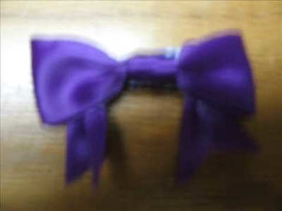 How to Make a Cute Hair Bow!