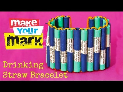 How to Make a Drinking Straw Bracelet (re-edit)