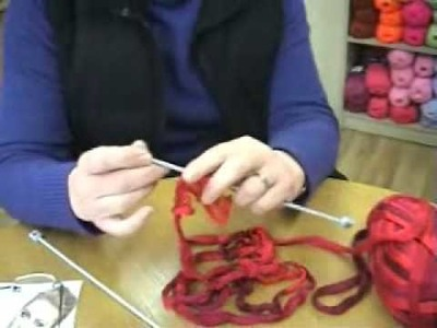 How To Make A Katia Ondas Scarf.wmv