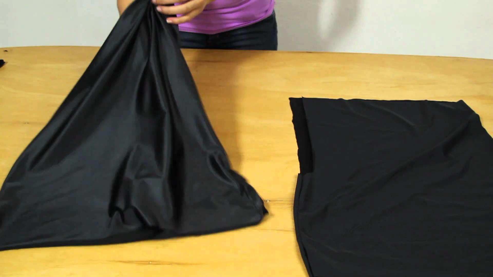 How to make a One Shoulder Romper Dress