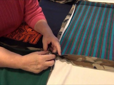 How To Make A T-Shirt Rag Quilt