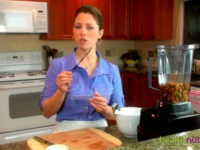 How to Make Almond Milk- Vitamix Method