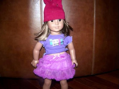 How to Make an American Girl Doll Hat.wmv