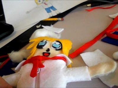How to make an anime.manga plushie doll