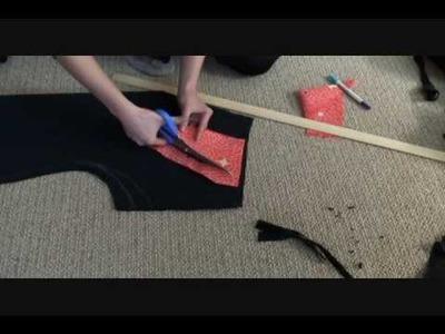 How to make an Inpired Japanese Kimono Dress