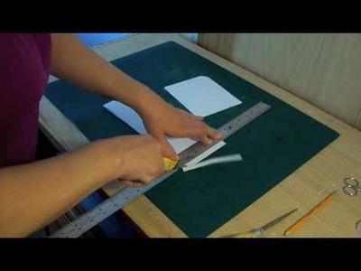 How to make handbag patterns-zebra.# 2.The Gusset