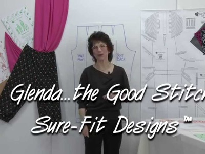 How to Make Pajama.Lounge Pants without a Side Seam