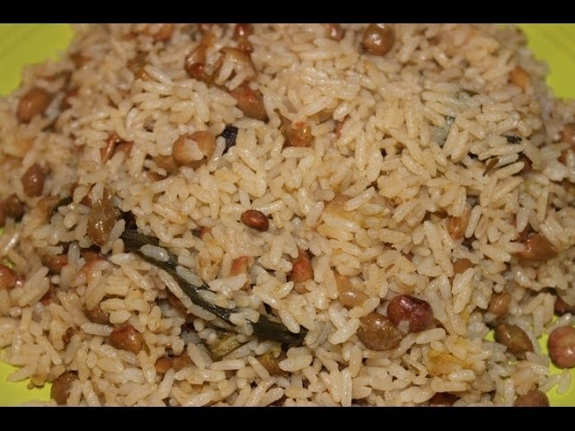 HOW - TO MAKE REAL JAMAICAN RICE AND PEAS    GUNGUH GREEN PIGEON PEAS