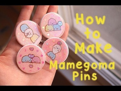 How to Make Resin Domed Mamegoma Pins