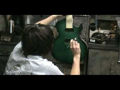 How to Paint a Sunburst Guitar