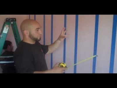 """How to Paint and Create Stripes"" Fix It Dudes: Paint Video 1"
