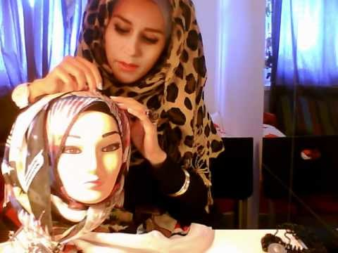 How to wear a square hijab!