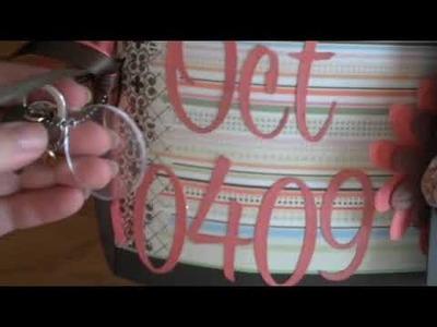 Island Wedding paperbag mini album