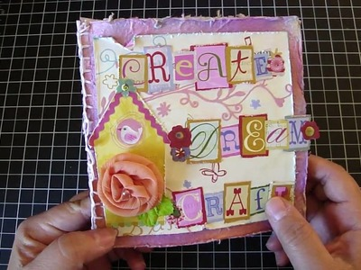 Journal.Mini Book with Handmade Paper