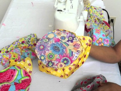 Learn How to make Childs Bucket Style Hat Part 1