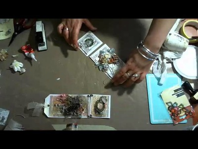 Mixed Media Tags with Anna Dabrowska on Live with Prima