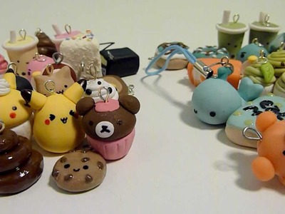 My Polymer Clay Charms