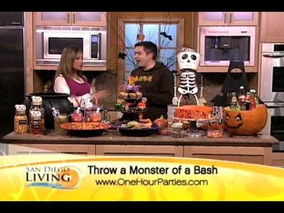 """One Hour Parties -- Halloween Party Food on """"San Diego Living"""""""