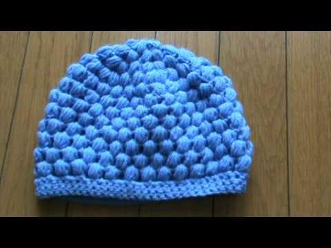 Puff stitch cap.MPG