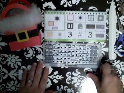 Santa Gift Bag Tutorial using the CTMH Art Philosophy Cricut Cartridge