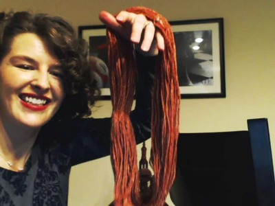 Skeining Your Yarn With a Chair - Part 8A, Free Yuna Shrug Pattern - Tutorial - Expertly Dyed