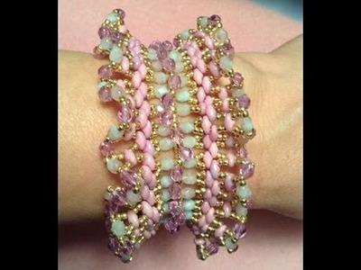 Spring Ruffle Bracelet Tutorial