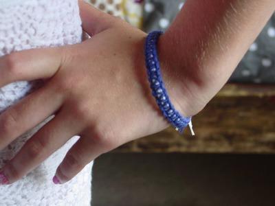 Square knot bracelet| Owlbeteen