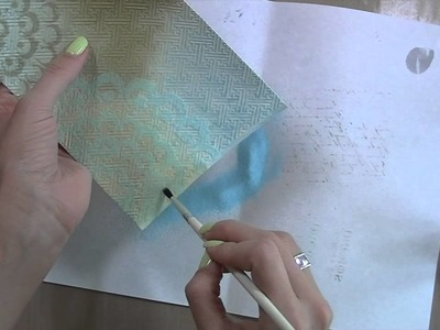 Textured Card Tutorial -July 2014