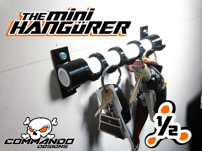 The Mini Hangürer - the greastest keyholder you'll ever find.  ever.  seriously.